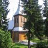 Kościół rzymskokatolicki w Komańczy/Szlak Architektury Drewnianej/Wooden Architecture Trail