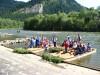 Sromowce Niżne - start spływu przełomem Dunajca / Start point for Dunajec River Gorge