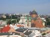 Widok na Stare Maisto ze Wzgórza Wawelskiego