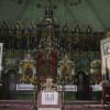Wnętrze cerkwi prawosławnej w Komańczy (przed pożarem)