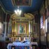 Wnętrze kościoła w Paczółtowicach/Szlak Architektury Drewnianej/Wooden Architecture Trail